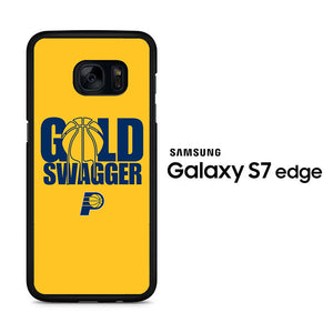 NBA Gold Swagger Samsung Galaxy S7 Edge Case