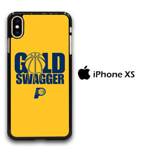 NBA Gold Swagger iPhone Xs Case