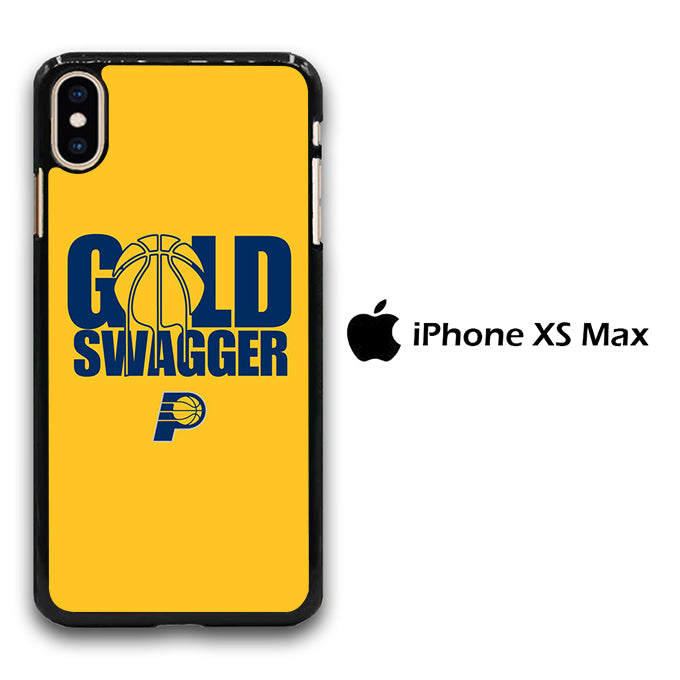 NBA Gold Swagger iPhone Xs Max Case