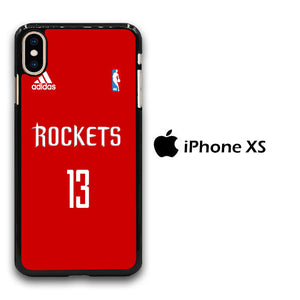 NBA Houston Rockets Jersey iPhone Xs Case