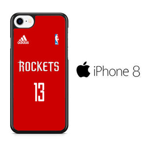 NBA Houston Rockets Jersey iPhone 8 Case