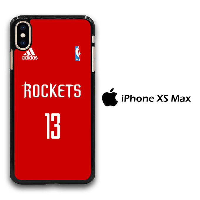 NBA Houston Rockets Jersey iPhone Xs Max Case