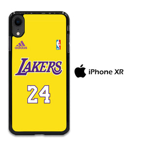 NBA Lakers Jersey 24 iPhone XR Case