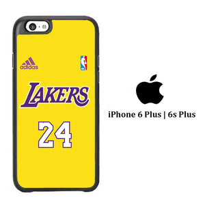 NBA Lakers Jersey 24 iPhone 6 Plus | 6s Plus Case