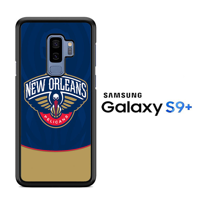 NBA Orleans Pelicans Blue Samsung Galaxy S9 Plus Case