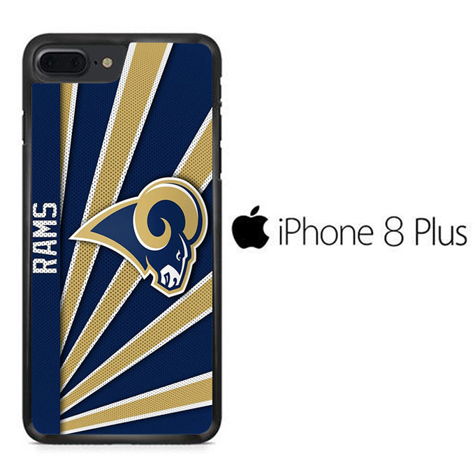 NFL Los Angeles Rams Logo iPhone 8 Plus Case