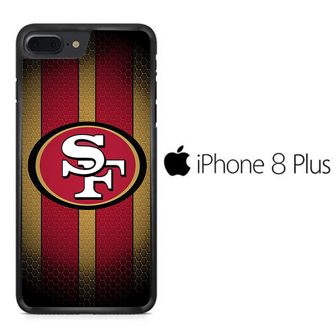 NFL San Francisco 49ers Logo iPhone 8 Plus Case