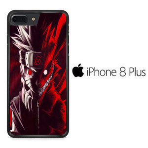 Naruto Kyubi Red iPhone 8 Plus Case