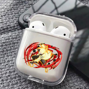 Naruto Lava Rasengan Protective Clear Case Cover For Apple Airpods