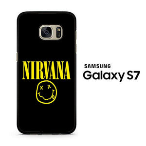 Nirvana Black Samsung Galaxy S7 Case