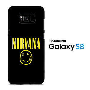 Nirvana Black Samsung Galaxy S8 Case
