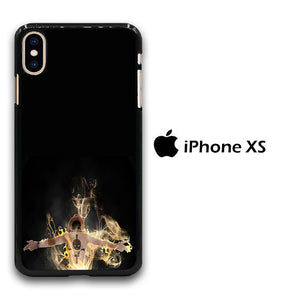 One Piece Ace Black iPhone Xs Case
