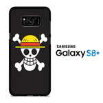 One Piece Black Logo Samsung Galaxy S8 Plus Case