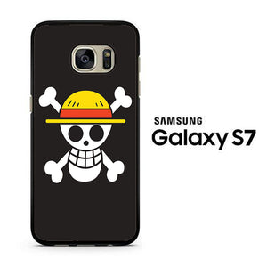 One Piece Black Logo Samsung Galaxy S7 Case