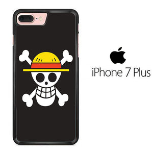 One Piece Black Logo iPhone 7 Plus Case
