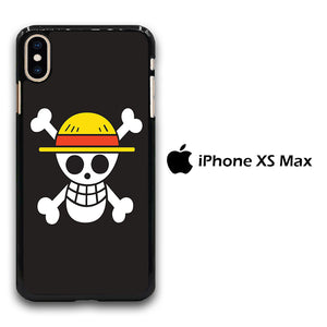 One Piece Black Logo iPhone Xs Max Case