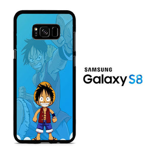 One Piece Luffy Boy Samsung Galaxy S8 Case