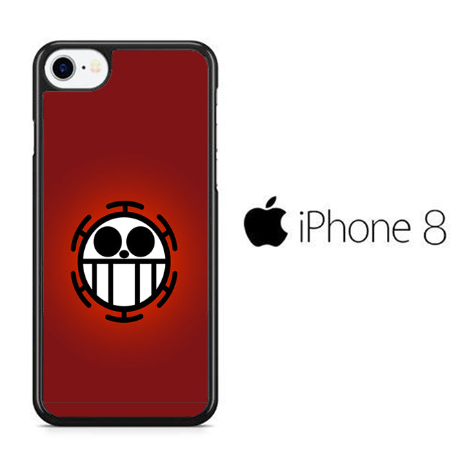 One Piece Red Logo iPhone 8 Case