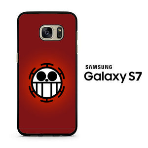 One Piece Red Logo Samsung Galaxy S7 Case