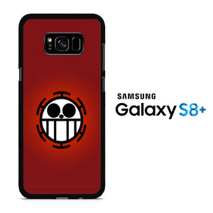 One Piece Red Logo Samsung Galaxy S8 Plus Case