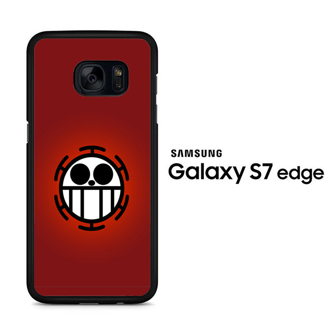 One Piece Red Logo Samsung Galaxy S7 Edge Case