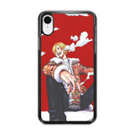 One Piece Sanji Smoker iPhone XR Case