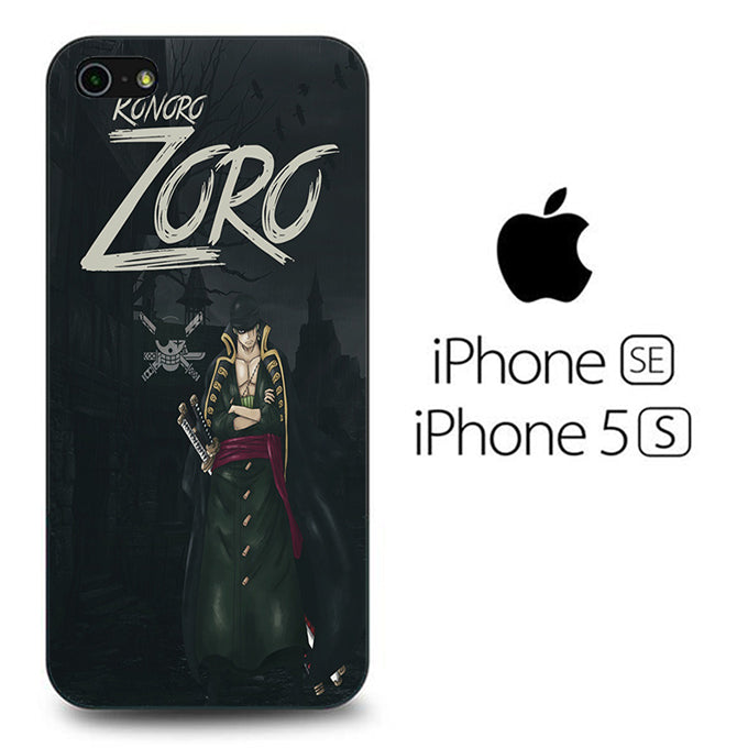 One Piece Zoro Black iPhone 5 | 5s Case