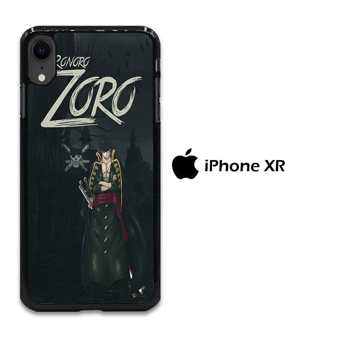 One Piece Zoro Black iPhone XR Case