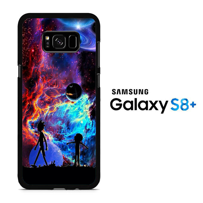Rick and Morty Aurora Samsung Galaxy S8 Plus Case