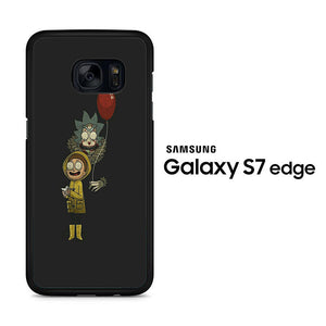 Rick and Morty Ballons Samsung Galaxy S7 Edge Case