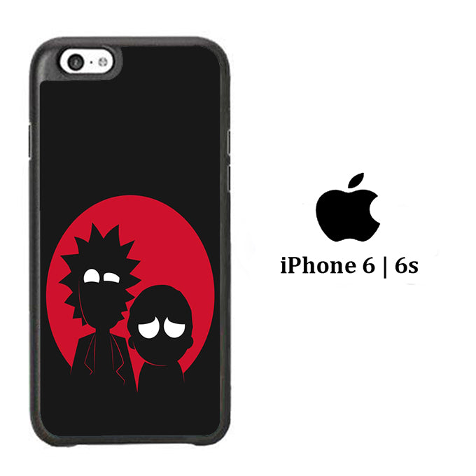 Rick and Morty Black Red iPhone 6 | 6s Case