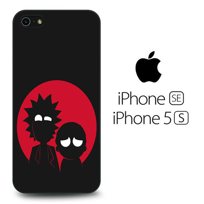 Rick and Morty Black Red iPhone 5 | 5s Case