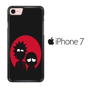 Rick and Morty Black Red iPhone 7 Case