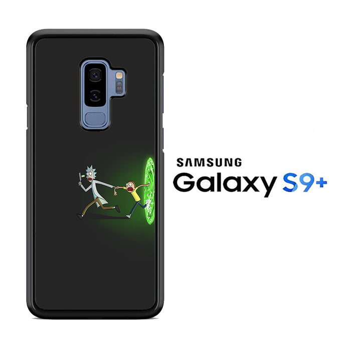 Rick and Morty Dimention Samsung Galaxy S9 Plus Case - ezzystore - Phone Case