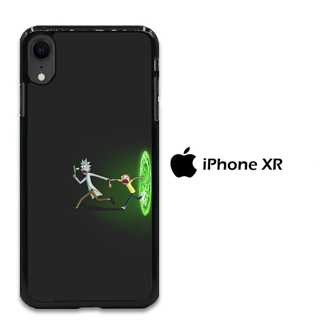 Rick and Morty Dimention iPhone XR Case