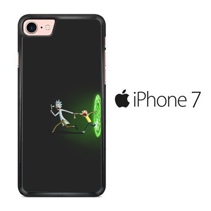 Rick and Morty Dimention iPhone 7 Case