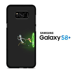 Rick and Morty Dimention Samsung Galaxy S8 Plus Case