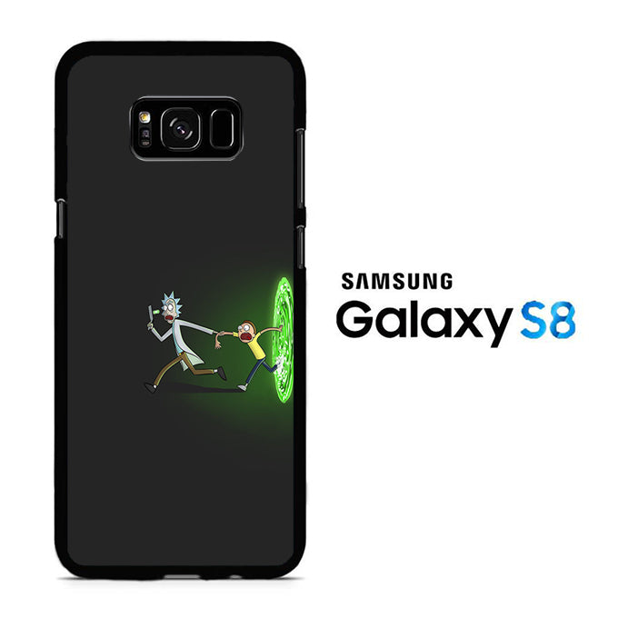 Rick and Morty Dimention Samsung Galaxy S8 Case