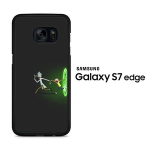 Rick and Morty Dimention Samsung Galaxy S7 Edge Case