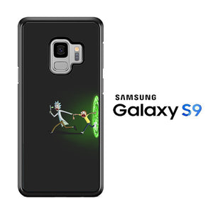 Rick and Morty Dimention Samsung Galaxy S9 Case