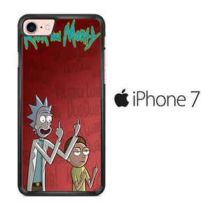 Rick and Morty Dub iPhone 7 Case