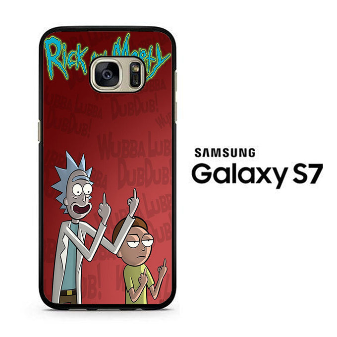 Rick and Morty Dub Samsung Galaxy S7 Case