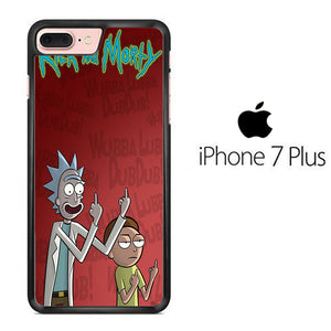 Rick and Morty Dub iPhone 7 Plus Case