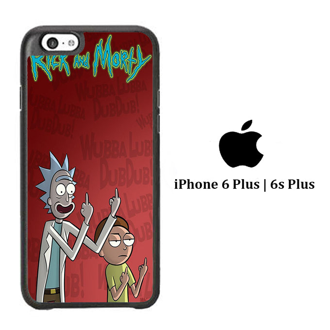 Rick and Morty Dub iPhone 6 Plus | 6s Plus Case