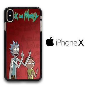 Rick and Morty Dub iPhone X Case