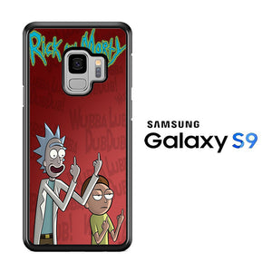 Rick and Morty Dub Samsung Galaxy S9 Case