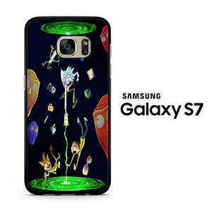 Rick and Morty Fly Samsung Galaxy S7 Case