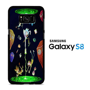 Rick and Morty Fly Samsung Galaxy S8 Case