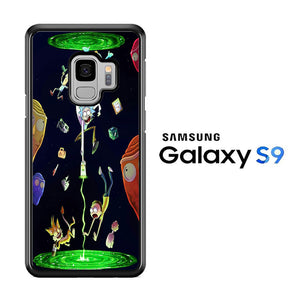 Rick and Morty Fly Samsung Galaxy S9 Case