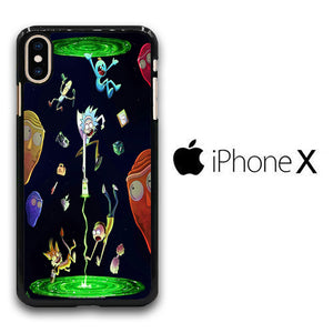 Rick and Morty Fly iPhone X Case